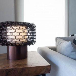 Honeycomb Masa Lambası