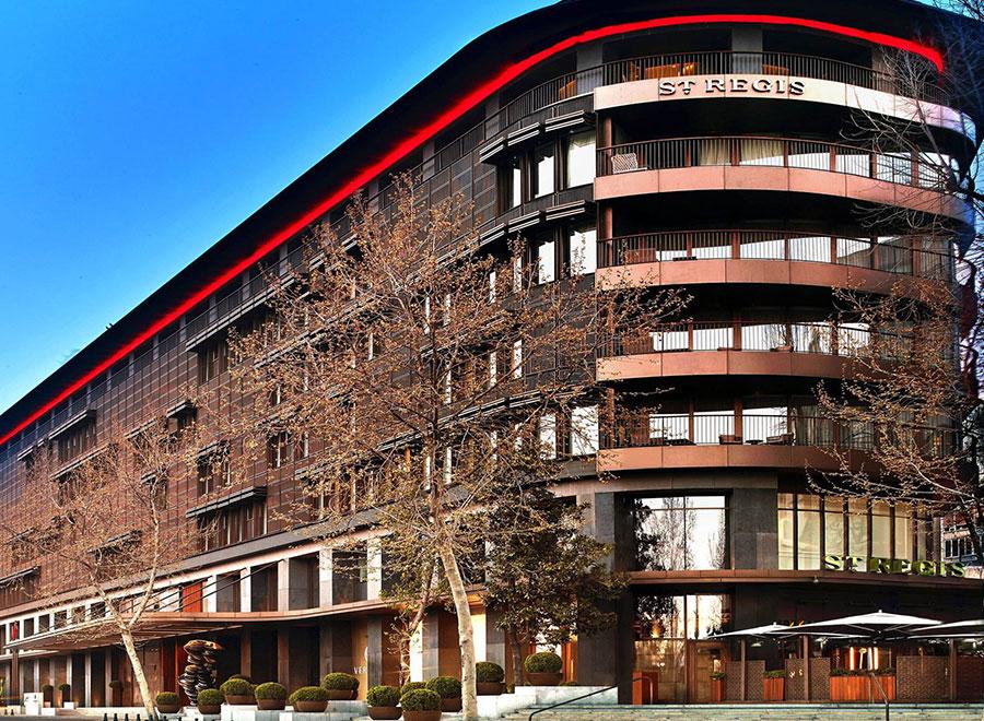 Teska St Regis İstanbul Otel Duvar ve Zemin Kaplama Projesi