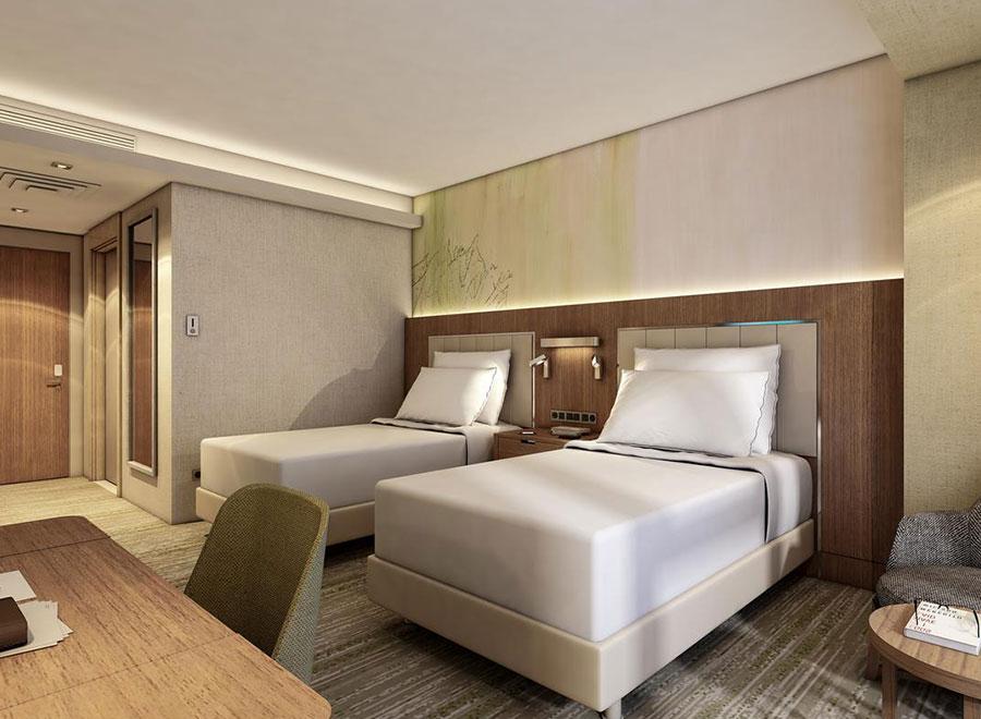 Teska Doubletree Hilton Duvar ve Zemin Kaplama Projesi