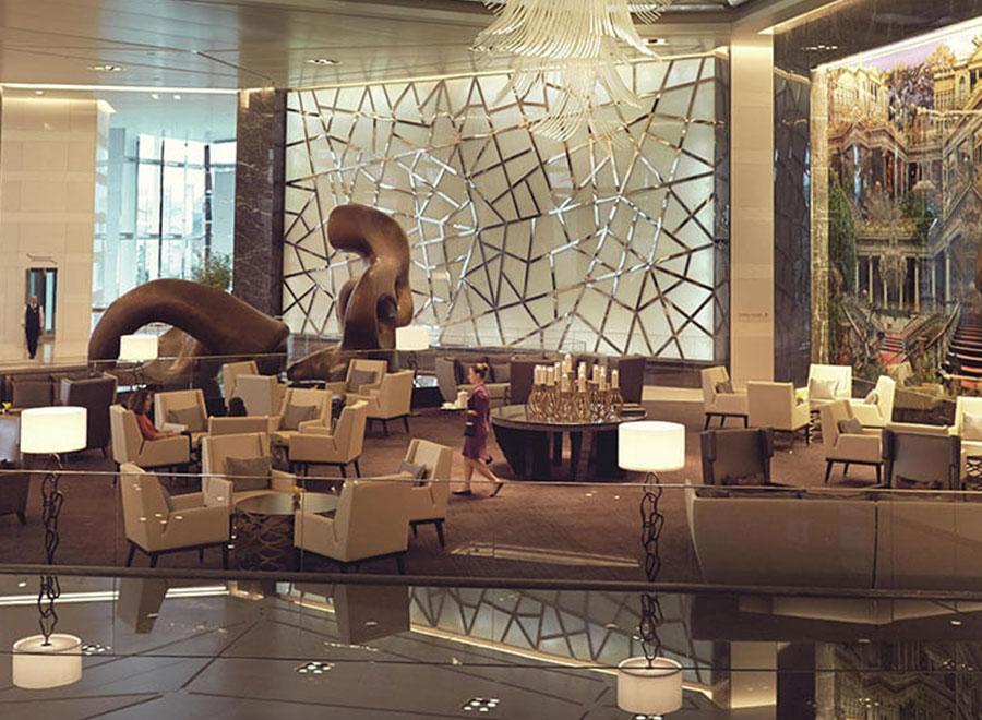 Teska Ruffles Hotel İstanbul Duvar ve Zemin Kaplama Projesi
