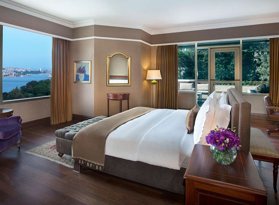 Teska Ritz Carlton İstanbul Otel Kral Dairesi Yer Duvar ve Mobilya Kaplama Projesi